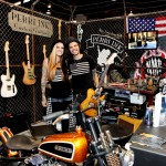 Custom Guitars Perri ink Custom Guitars Nick Perri Misi Perri
